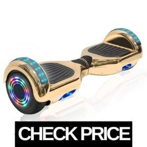 NHT Chrome Gold Hoverboard