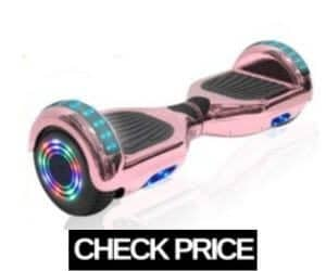 TechClic Chrome Rose Gold Hoverboard