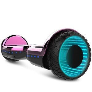 Worm hole hoverboard