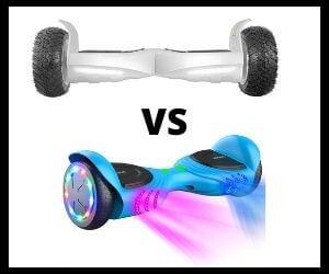 Off Road Hoverboards VS Regular Hoverboards
