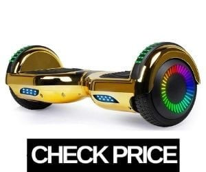 SISIGAD Golden Hoverboard